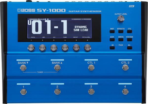 Guitar synthesizer Boss SY-1000 Guitar Synthesizer