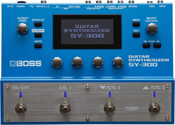 Guitar synthesizer Boss SY-300