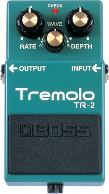 Modulation, chorus, flanger, phaser & tremolo effect pedal Boss TR-2 Tremolo