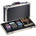 Flightcase pedalboard for effect pedal