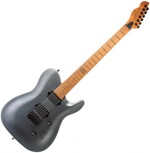 Solid body electric guitar Chapman guitars ML3 Pro Modern - cyber black