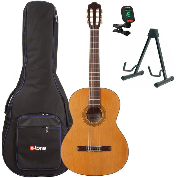 Classical guitar set Cordoba Iberia C3M + housse + stand + accordeur - natural satin