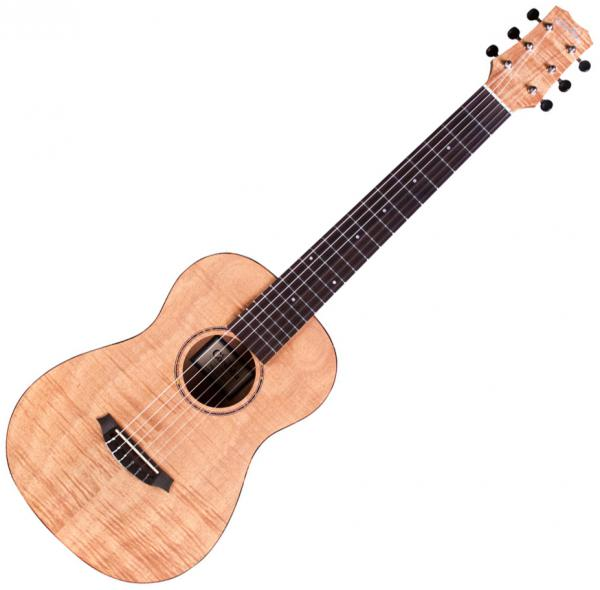 Travel acoustic guitar  Cordoba Mini II FMH - Natural