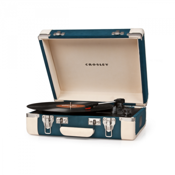 Turntables hifi Crosley Executive Blue/ Cream