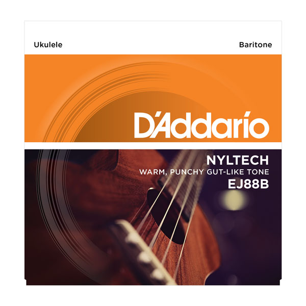 Ukulele strings D'addario Nyltech Ukulele Bariton 26-30 EJ88B - Set of strings