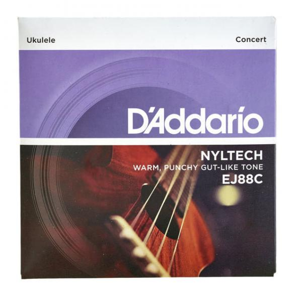 Ukulele strings D'addario Nyltech Ukulele Concert 24-26 EJ88C - Set of strings
