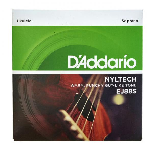 Ukulele strings D'addario Nyltech Ukulele Soprano 24-26 EJ88S - Set of strings