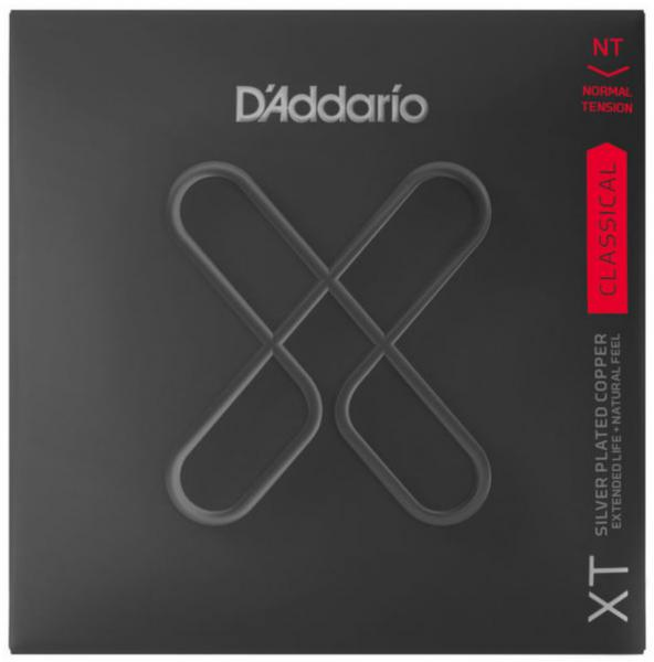 Nylon guitar strings D'addario XTC45 Classical Guitar Silver Plated Copper 28-44 - Set of strings