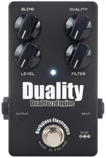 Overdrive, distortion, fuzz effect pedal for bass Darkglass Duality Fuzz Engine Ltd - Black