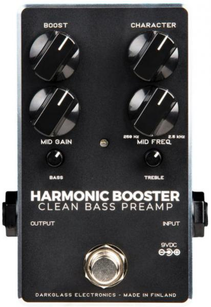 Eq & enhancer effect pedal for bass Darkglass Harmonic Booster