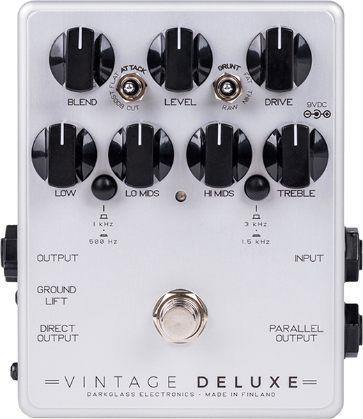 Overdrive, distortion, fuzz effect pedal for bass Darkglass Vintage Deluxe V3 Bass Overdrive
