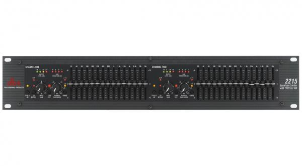 Equalizer / channel strip Dbx 2215