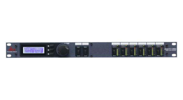 Effects processor  Dbx ZONEPRO 1260M
