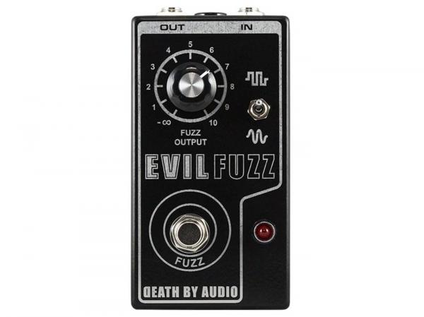 Overdrive, distortion & fuzz effect pedal Death by audio Evil Fuzz Limited Edition