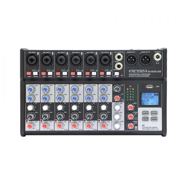 Analog mixing desk Definitive audio DA MX 8 USB