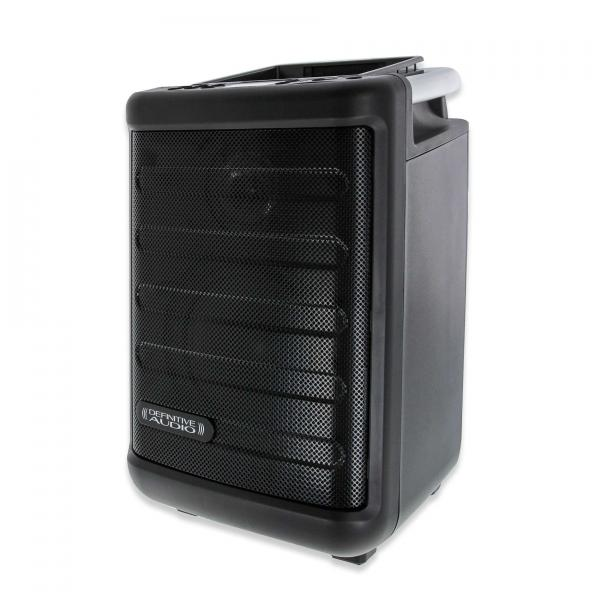 Portable pa system Definitive audio Easytraveller