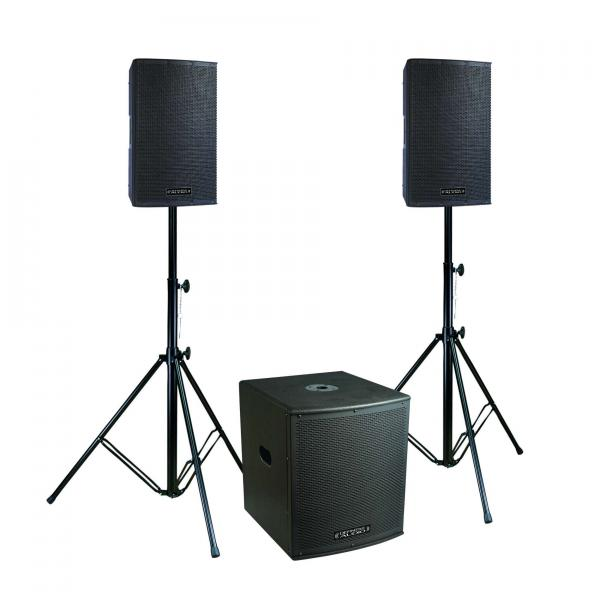 Complete pa system Definitive audio Koala Neo 1500 Tri