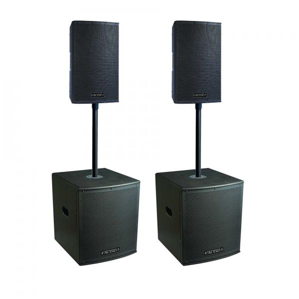 Complete pa system Definitive audio Koala Neo 2400 Quad