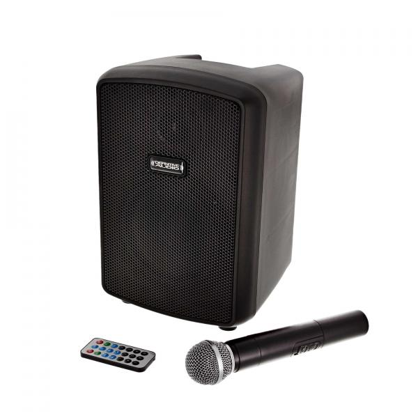 Portable pa system Definitive audio Rush One