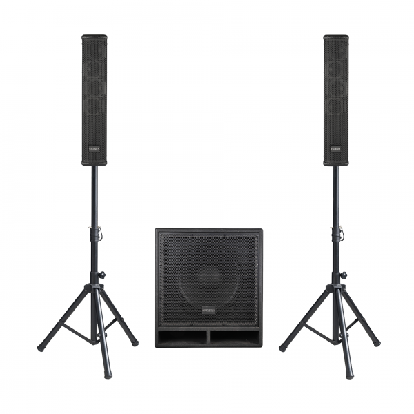Complete pa system Definitive audio VORTEX 600 TRI