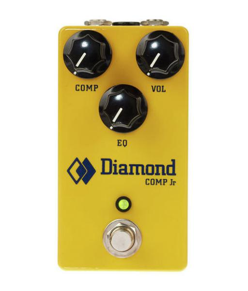 Compressor, sustain & noise gate effect pedal Diamond Compressor Jr