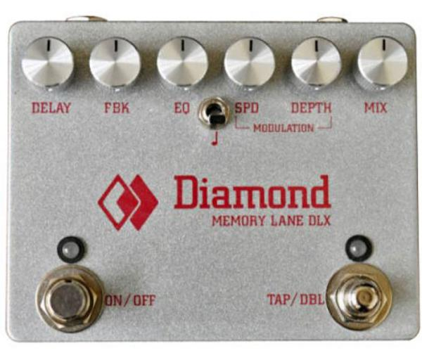Reverb, delay & echo effect pedal Diamond Memory Lane Deluxe Delay