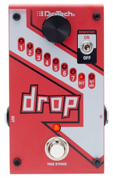 Harmonizer effect pedal Digitech The Drop