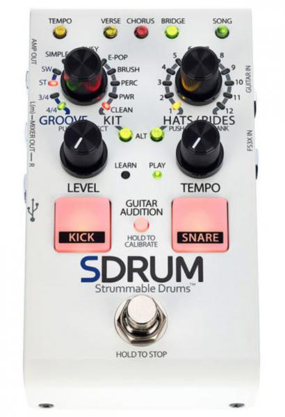 Drum machine Digitech SDRUM Strummable Drums