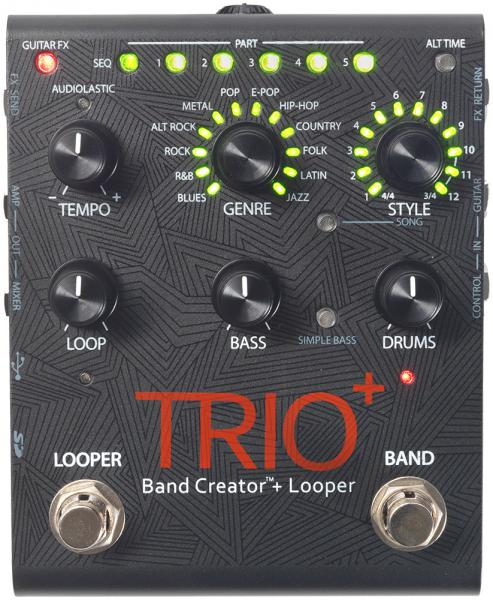 Looper effect pedal Digitech TRIO+