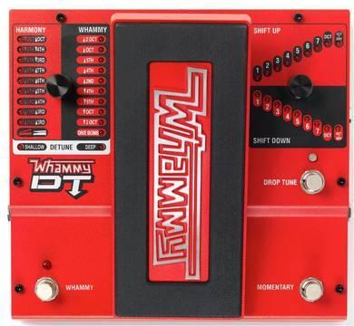 Harmonizer effect pedal Digitech Whammy DT Harmonizer Pitch shifter