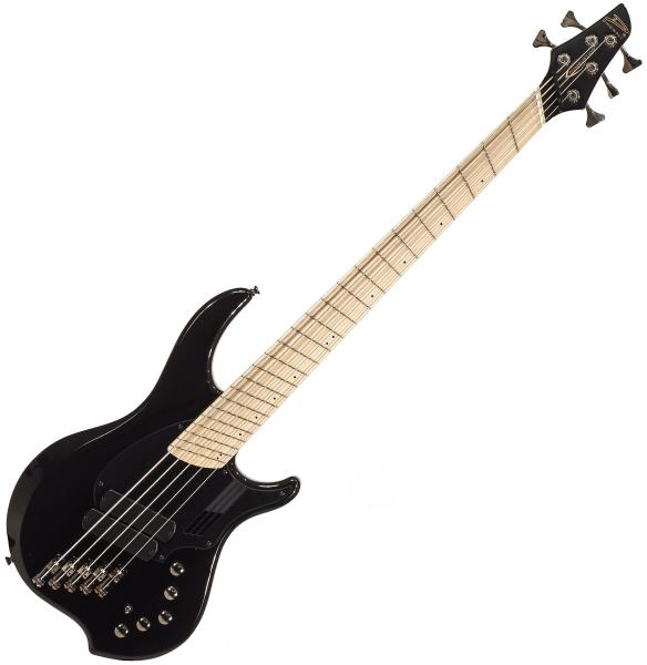 Solid body electric bass Dingwall Adam Nolly Getgood NG2 5 2-Pickups - Metallic black