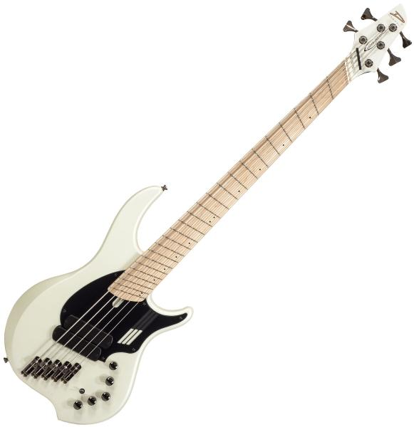 Solid body electric bass Dingwall Adam Nolly Getgood NG2 5 2-Pickups - Ducati pearl white matte