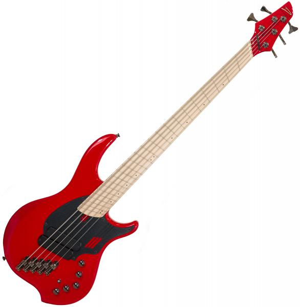 Solid body electric bass Dingwall Adam Nolly Getgood NG2 5 2-Pickups - Ferrari red
