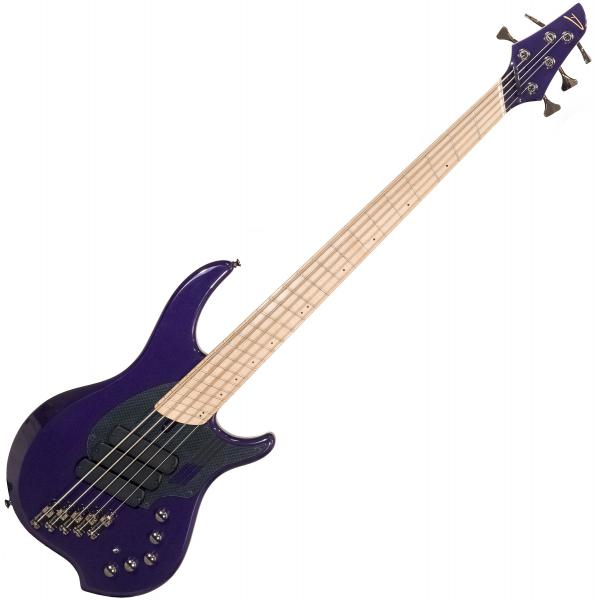 Solid body electric bass Dingwall Adam Nolly Getgood NG3 5 3-Pickups - Purple metallic