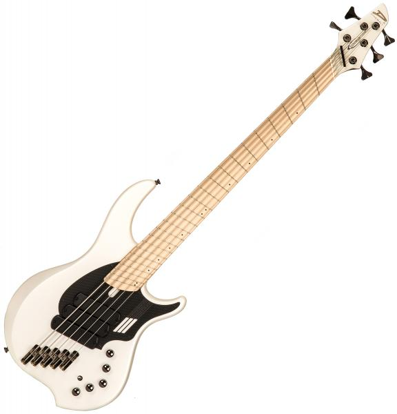 Solid body electric bass Dingwall Adam Nolly Getgood NG3 5 3-Pickups - Ducati pearl white