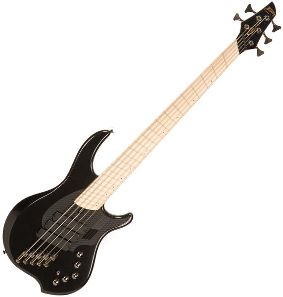 Solid body electric bass Dingwall Adam Nolly Getgood NG3 5 3-Pickups - Metallic black