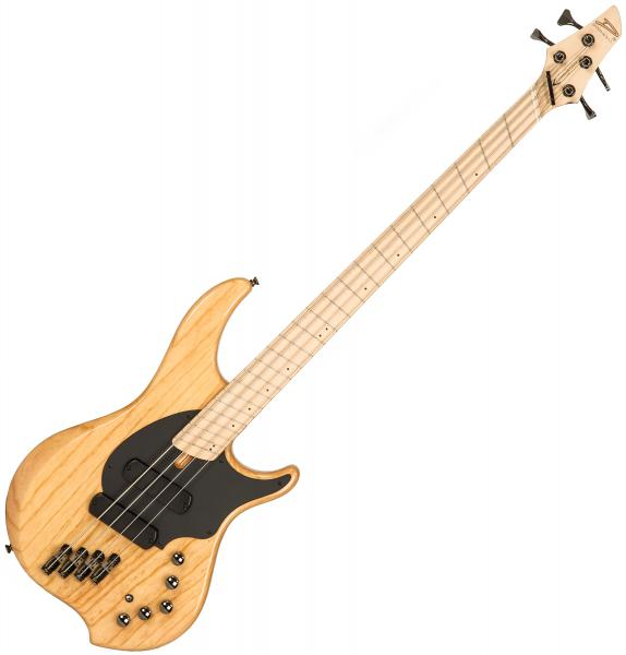 Solid body electric bass Dingwall Combustion 4 2-Pickups (MN) - Natural