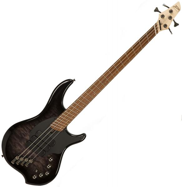 Solid body electric bass Dingwall Combustion 4 3-Pickups (MN) - Black burst