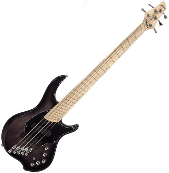 Solid body electric bass Dingwall Combustion 5 2-Pickups (MN) - 2-tone blackburst
