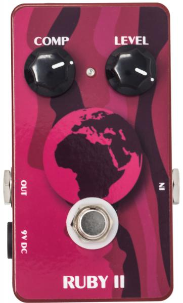 Compressor, sustain & noise gate effect pedal Doc Ruby 2 Compressor