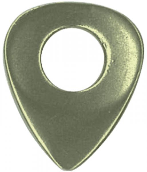 Guitar pick Dugain Metaldug Drilled Brass
