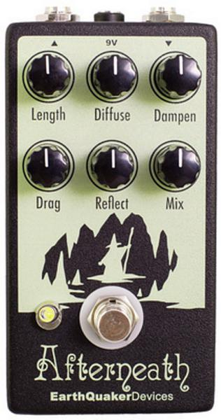 Reverb, delay & echo effect pedal Earthquaker Afterneath Reverb V2