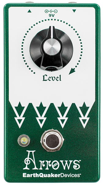 Volume, boost & expression effect pedal Earthquaker Arrows V2
