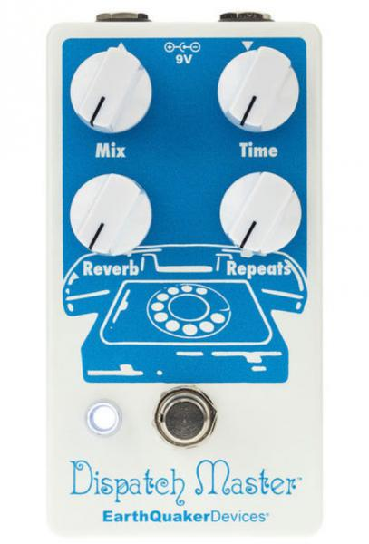 Reverb, delay & echo effect pedal Earthquaker Dispatch Master Digital Delay & Reverb V3