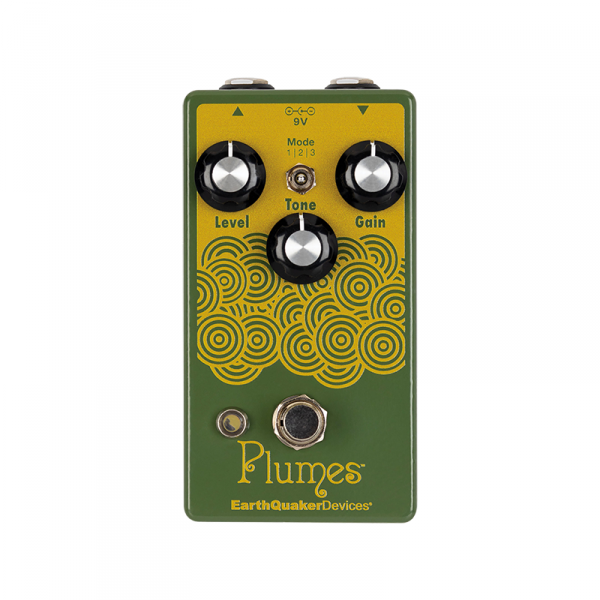 Overdrive, distortion & fuzz effect pedal Earthquaker Plumes Overdrive