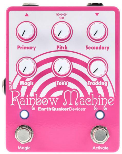 Harmonizer effect pedal Earthquaker Rainbow Machine Pitch Shifter V2