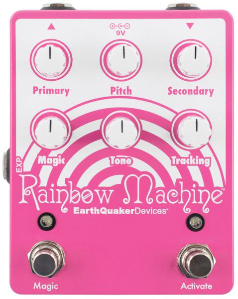 Harmonizer effect pedal Earthquaker Rainbow Machine Pitch Shifter V3