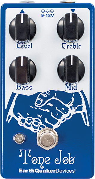 Eq & enhancer effect pedal Earthquaker Tone Job V2
