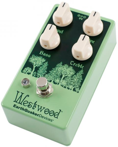 Overdrive, distortion & fuzz effect pedal Earthquaker Westwood