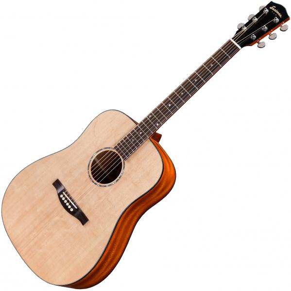 Acoustic guitar & electro Eastman PCH1-D +Bag - Natural satin